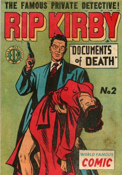 Cover for Rip Kirby (Atlas, 1951 series) #2
