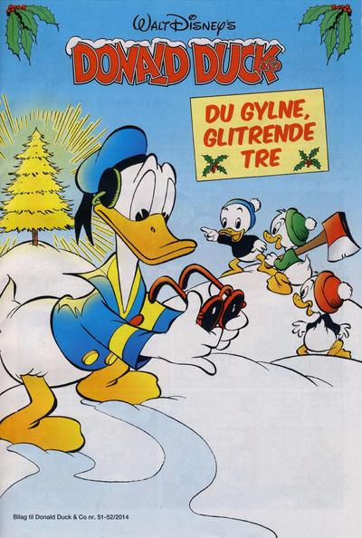 Cover for Bilag til Donald Duck & Co (Hjemmet / Egmont, 1997 series) #51-52/2014