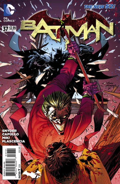 Cover for Batman (DC, 2011 series) #37 [Direct Sales]