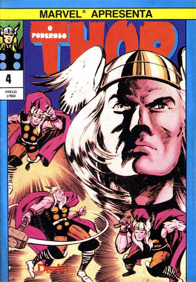 Cover for O Poderoso Thor (Distri Editora, 1983 series) #4