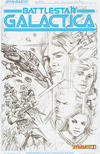 Cover Thumbnail for (Classic) Battlestar Galactica (2013 series) #1 [Incentive Art Board Alex Ross Sketch Variant]