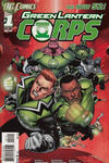 Cover for Green Lantern Corps (DC, 2011 series) #1 [Second Printing]