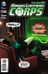 Cover for Green Lantern Corps (DC, 2011 series) #29 [Robot Chicken Cover]