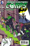 Cover for Green Lantern Corps (DC, 2011 series) #31 [Batman '66 Cover]