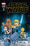 Cover for Star Wars (Marvel, 2015 series) #1 [Skottie Young Babies Variant]