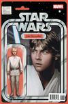 Cover Thumbnail for Star Wars (2015 series) #1 [John Tyler Christopher Action Figure Variant (Luke Skywalker)]