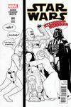 Cover Thumbnail for Star Wars (2015 series) #1 [John Tyler Christopher Humorous Black and White Variant]