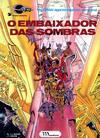 Cover for Valérian, agente espácio-temporal (Meribérica, 1980 series) #6 - O Embaixador das Sombras