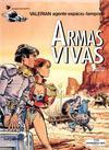 Cover for Valérian, agente espácio-temporal (Meribérica, 1980 series) #14