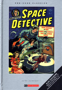 Cover Thumbnail for Pre-Code Classics: Space Detective (PS, 2014 series)
