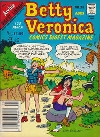 Cover Thumbnail for Betty and Veronica Comics Digest Magazine (Archie, 1983 series) #20 [Canadian]