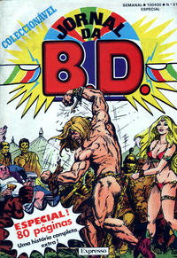 Cover Thumbnail for Jornal da B.D. (Sojornal, 1982 series) #51