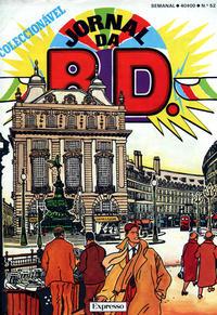 Cover Thumbnail for Jornal da B.D. (Sojornal, 1982 series) #52