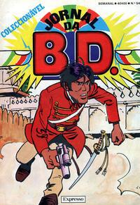 Cover Thumbnail for Jornal da B.D. (Sojornal, 1982 series) #54