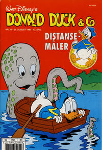 Cover Thumbnail for Donald Duck & Co (Hjemmet / Egmont, 1948 series) #34/1990