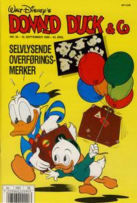 Cover Thumbnail for Donald Duck & Co (Hjemmet / Egmont, 1948 series) #38/1990
