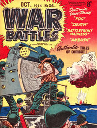 Cover Thumbnail for War Battles (Consolidated Press, 1952 series) #24