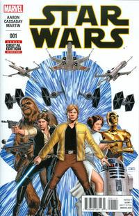 Cover Thumbnail for Star Wars (Marvel, 2015 series) #1 [John Cassaday Cover]