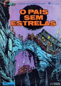 Cover Thumbnail for Valérian, agente espácio-temporal (Meribérica, 1980 series) #3 - O País Sem Estrelas