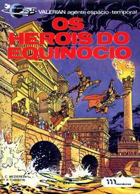 Cover Thumbnail for Valérian, agente espácio-temporal (Meribérica, 1980 series) #8 - Os Heróis do Equinócio