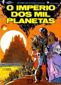 Cover Thumbnail for Valérian, agente espácio-temporal (Meribérica, 1980 series) #2 - O Império dos Mil Planetas