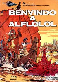 Cover Thumbnail for Valérian, agente espácio-temporal (Meribérica, 1980 series) #4 - Benvindo a Alflolol