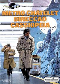 Cover Thumbnail for Valérian, agente espácio-temporal (Meribérica, 1980 series) #9 - Metro Châtelet Direcção Cassiopeia