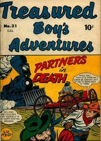 Cover Thumbnail for Treasured Boy's Adventures (Bell Features, 1950 series) #31