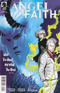 Cover Thumbnail for Angel & Faith (Dark Horse, 2011 series) #22 [Rebekah Isaacs Alternate Cover]