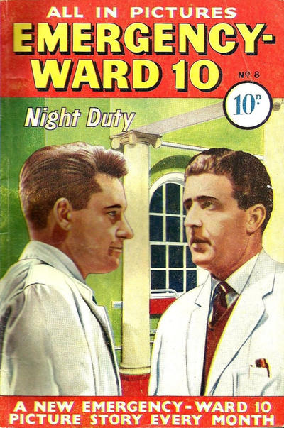 Cover for Emergency-Ward 10 (Pearson, 1959 series) #8