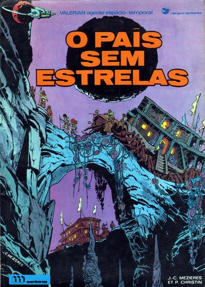 Cover for Valérian, agente espácio-temporal (Meribérica, 1980 series) #3 - O País Sem Estrelas