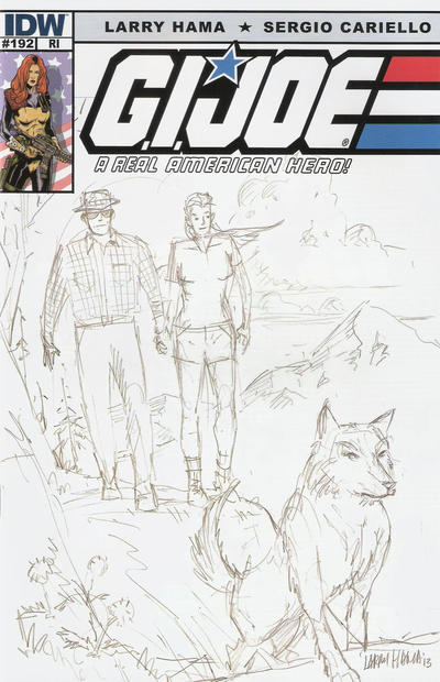 Cover for G.I. Joe: A Real American Hero (IDW, 2010 series) #192 [Cover RI]
