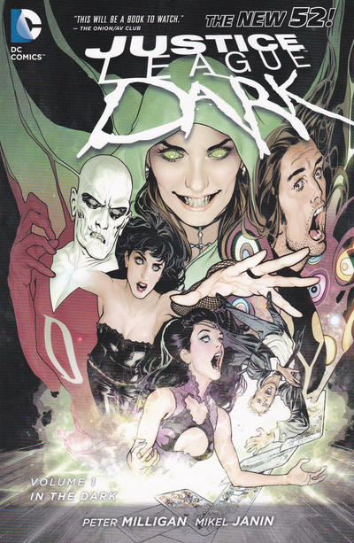 Cover for Justice League Dark (DC, 2012 series) #1 - In the Dark