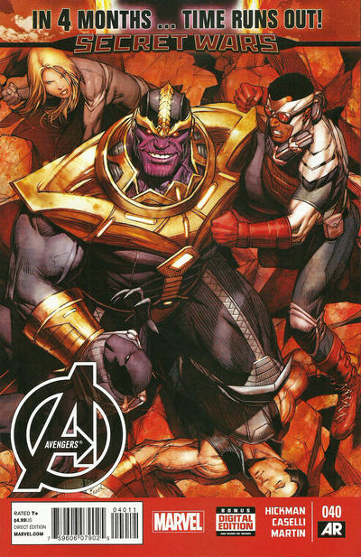 Cover for Avengers (Marvel, 2013 series) #40