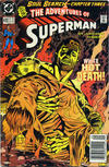 Cover for Adventures of Superman (DC, 1987 series) #470 [Newsstand]