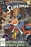 Cover for Adventures of Superman (DC, 1987 series) #457 [Direct]