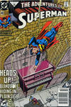 Cover for Adventures of Superman (DC, 1987 series) #483 [Newsstand]