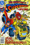 Cover for Adventures of Superman (DC, 1987 series) #495 [Newsstand]