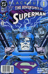 Cover for Adventures of Superman (DC, 1987 series) #484 [Newsstand]