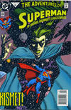Cover for Adventures of Superman (DC, 1987 series) #494 [Newsstand]