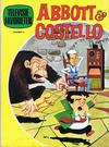Cover for Televisie favorieten (Nederlandse Rotogravure Pers, 1970 series) #9 - Abbott & Costello