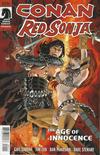 Cover for Conan Red Sonja (Dark Horse, 2015 series) #1