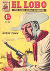 Cover for El Lobo The Man from Nowhere (Cleland, 1956 series) #23