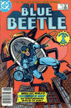 Cover Thumbnail for Blue Beetle (1986 series) #1 [Newsstand]