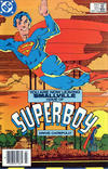 Cover Thumbnail for The New Adventures of Superboy (1980 series) #51 [Newsstand Edition]