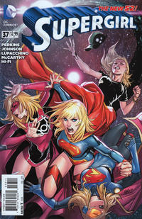 Cover Thumbnail for Supergirl (DC, 2011 series) #37 [Direct Sales]