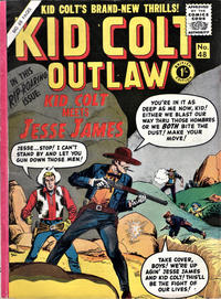 Cover Thumbnail for Kid Colt Outlaw (Thorpe & Porter, 1950 ? series) #48