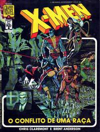 Cover Thumbnail for Graphic Novel (Editora Abril, 1988 series) #1 - X-Men - O Conflito de uma Raça