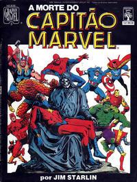 Cover Thumbnail for Graphic Novel (Editora Abril, 1988 series) #3 - A Morte do Capitão Marvel