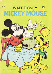 Cover Thumbnail for Walt Disney's Mickey Mouse (W. G. Publications; Wogan Publications, 1956 series) #180